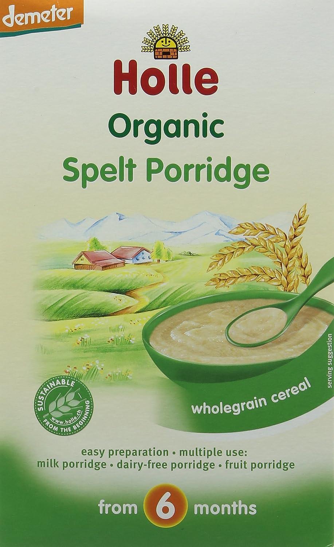 Holle Organic From 6 Months Spelt Porridge 250 G Pack Of 3