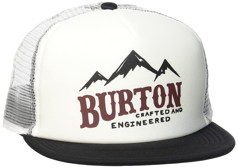 Burton I-80 Snapback Trucker - Gorra para Hombre, Hombre, Gorra, I-80 Snapback Trucker, Stout White, Talla única: Amazon.es: Deportes y aire libre