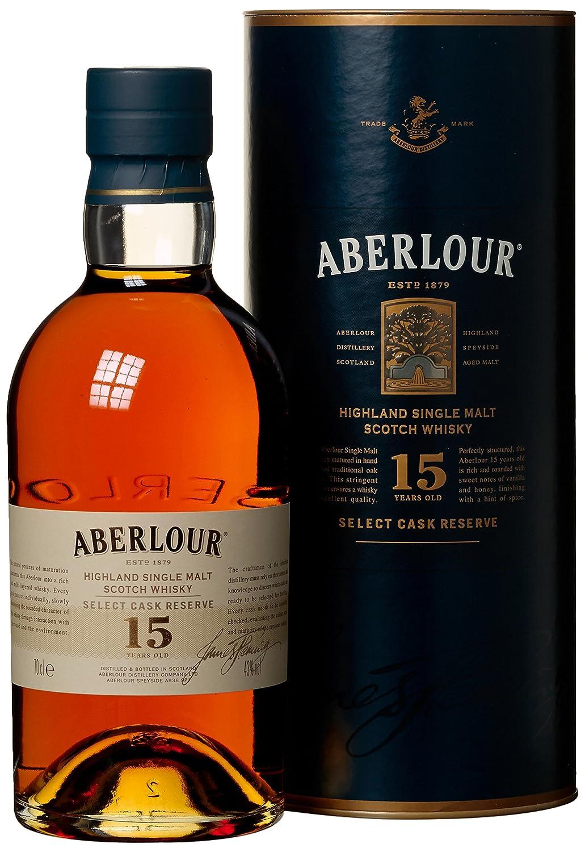 Aberlour Single Malt Whisky 15 Jahre (1 x 0.7 l): Amazon.de: Bier ...