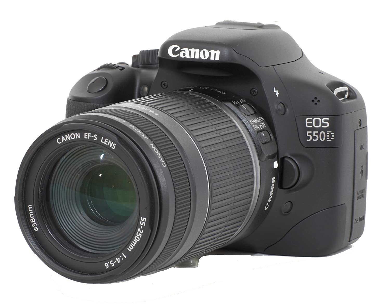 Canon EOS 550D - Cámara Réflex Digital 18.7 MP (Objetivo EF 18-55 ...