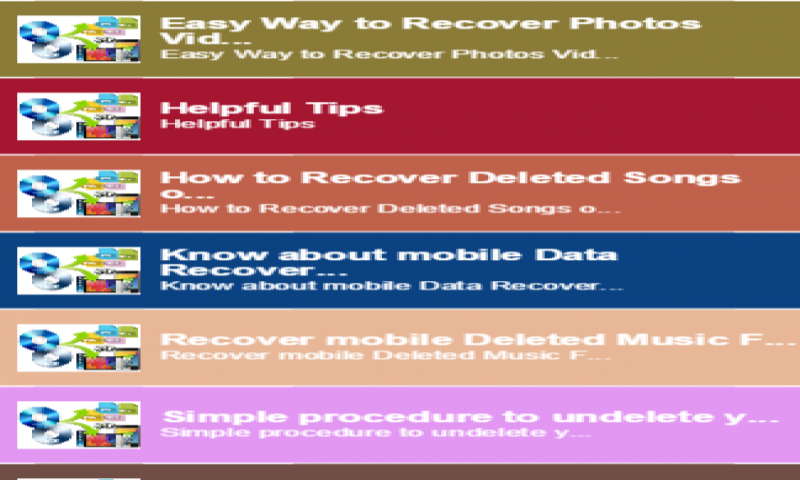 Amazon com: Recover Deleted Songs on mobile: Appstore for Android