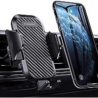 VANMASS [2019 Upgrade] Handyhalterung Auto Handyhalter fürs Auto Lüftung 360°Drehbar 2 x Lüftungsklammern Umfassender Schutz Universal für alle 4-7 Zoll Smartphones iPhone Samsung LG Huawei Serie