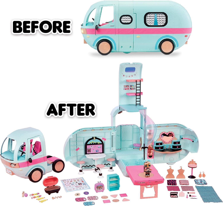 Bus Van Surprise Dolls Kids Toy Set Gift Figures  L.O.L Camper Car Kids Toy Gift