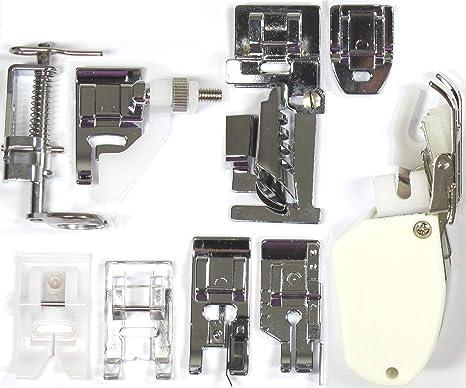 Accesorios costura: PIES PRENSATELAS PACK 9