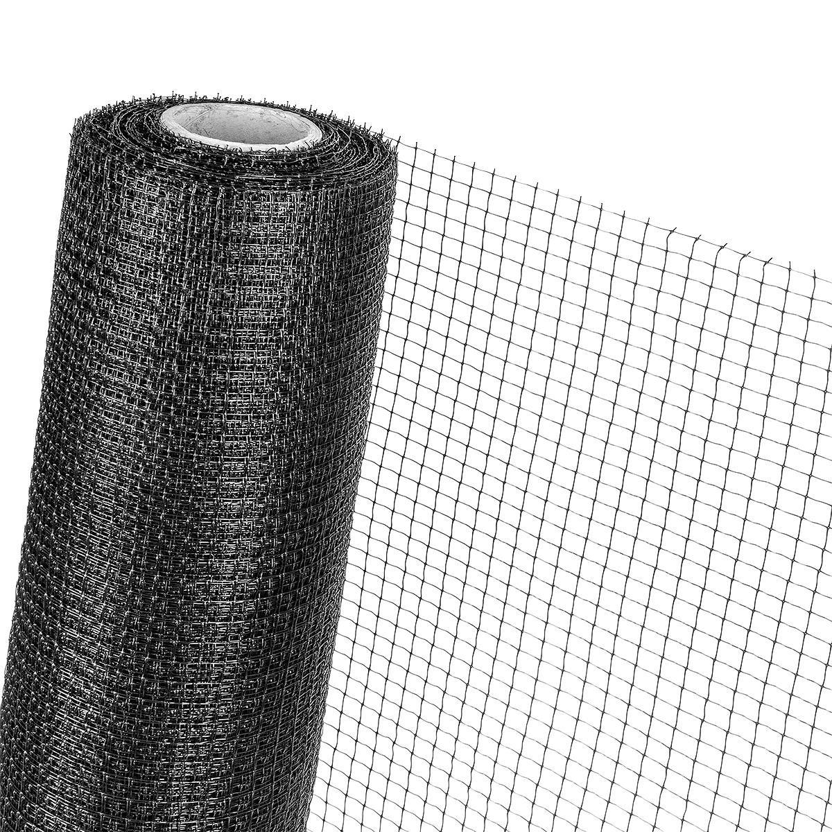 MAULWURFNETZ 1m x 200m Maulwurfbekämpfung Maulwurfschutz für Rasen-Rollrasen