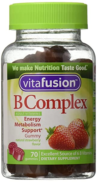 Amazon.com: Vitafusion Complejo B adulto Gummy Vitaminas 70 ...