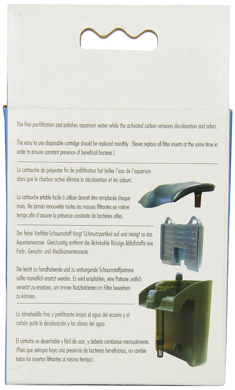 Amazon.com : Elite Carbon Cartridge for Hush 10 Power Aquarium Filter, 2-Pack : Aquarium Filter Accessories : Pet Supplies