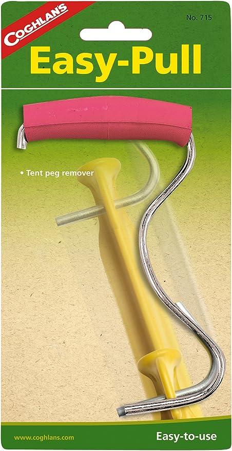 Tente Peg Puller Remover extracteur acier ergonomique camping Auvent Caravane PEG NEW