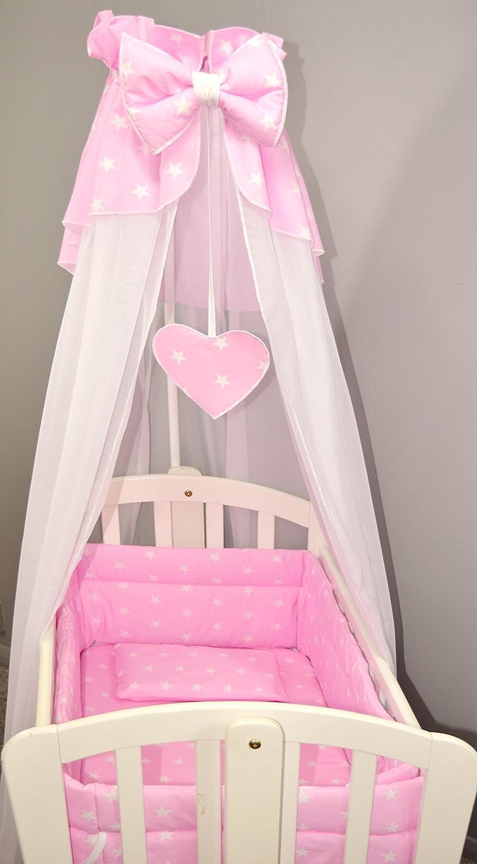 Grey Spots 10 pcs Crib Bedding Set//Bumper//Sheet//Duvet//Canopy//Free Standing Holder