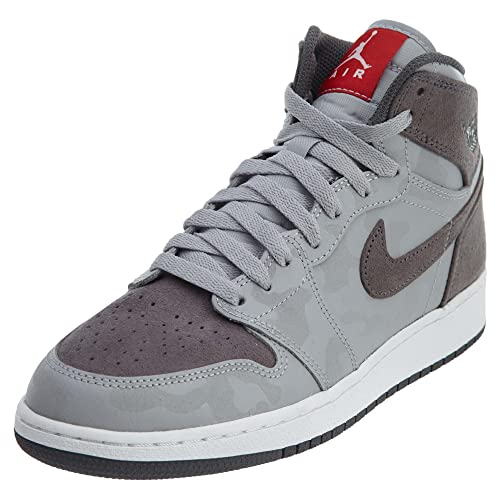 5a340c04cb90 AIR JORDAN 1 Retro HIGH PREM BG  CAMO  - 822858-027 - Size 5-US   5-UK   Amazon.co.uk  Shoes   Bags