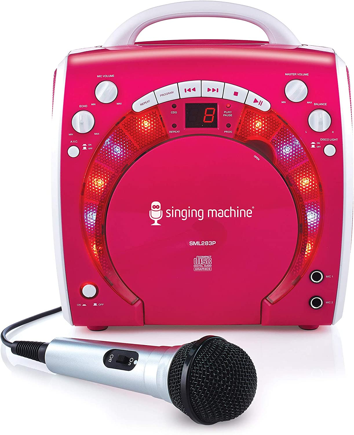 Singing Machine SML-283P CDG Karaoke Player