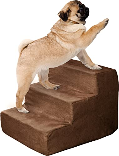 PETMAKER High Density Foam 3 Tier Pet Steps