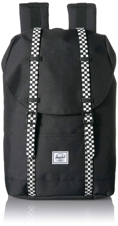 Herschel Supply Co. バックパック, Black/Checkerboard, One Size B07DYMKJV3