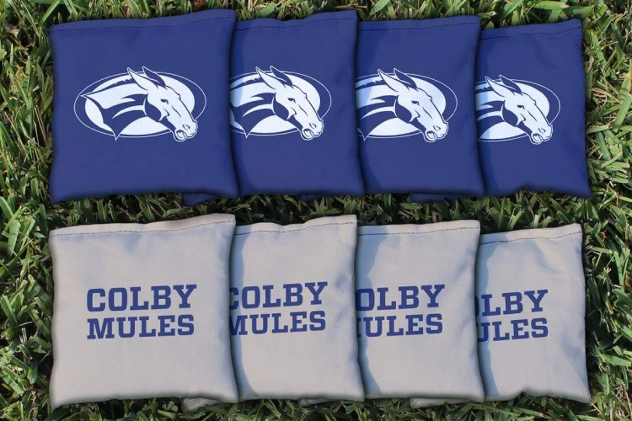 Victory Tailgate NCAA Regulation All Weather Cornhole Game Bag Set - 8 Bags Included - Colby Mules by Victory Tailgate