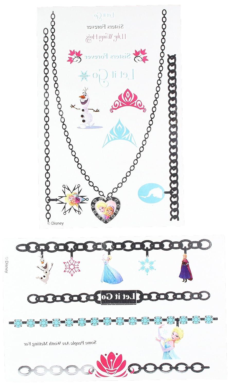 Kole Disney Frozen Metallic Jewelry Tattoos