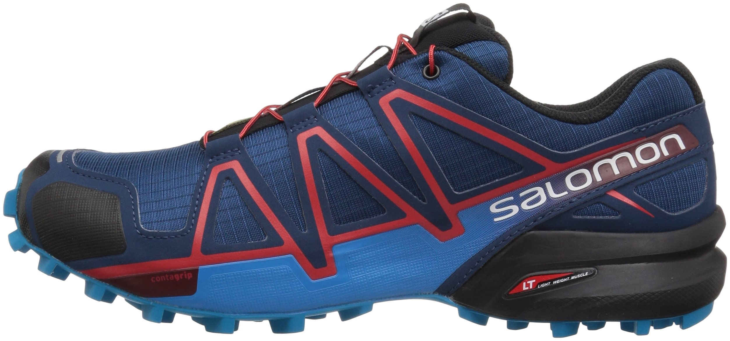 newest baf26 e5853 Salomon Men s Speedcross 4 Trail Runner Running Shoe, Poseidon, 10 M US -  L40079700-Q587-10 M US   Trail Running   Clothing, Shoes   Jewelry - tibs