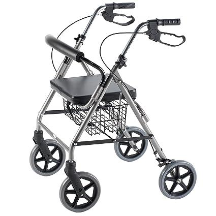 Amazon.com: Ultra ligero andador de titanio con respaldo ...