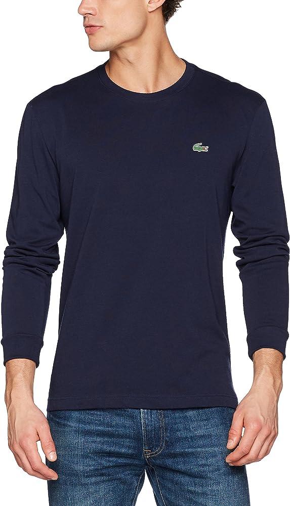 Lacoste Sport TH0123 Camiseta, Azul (Marine), X-Small (Talla del Fabricante: 2) para Hombre: Amazon.es: Ropa y accesorios