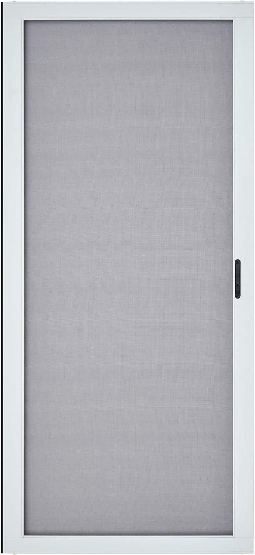 """K.D. Heavy Duty Aluminum Sliding Patio Screen Door Kit(36""""x80"""", White)-2.5"""" Frame"""