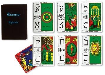 Dal Negro 40010 - Cartas de Tarot egípcio, de Stuart R. Kaplan