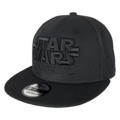 Image Unavailable. Image not available for. Color  New Era 9FIFTY Star Wars  Rogue One Snapback Cap - Black b8ee87465bd1