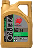 ZEPRO 30010095-95300C020 Eco Medalist Advanced Moly 0W-20 Engine Oil - 5 Quart