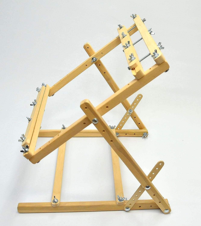 Enitan Kleiner Webstuhl, Stickerei Rahmen Ständer Kreuzstich-Rahmen ...