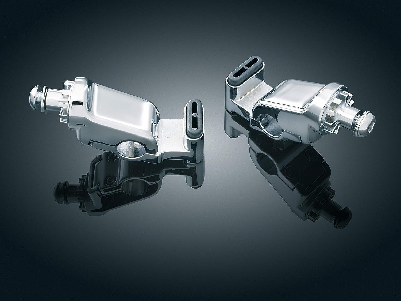 1 Pair Chrome Ergo to Ergo II Update for 2001-17 Honda Gold Wing GL1800 Motorcycles Kuryakyn 4063 Motorcycle Foot Control