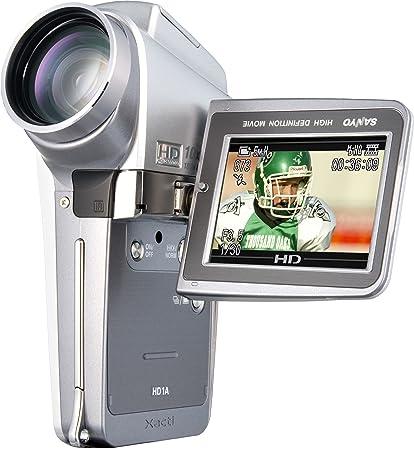 amazon com sanyo xacti hd1a 5 1mp mpeg4 high definition camcorder rh amazon com Sanyo Xacti CG10 Sanyo Xacti 10 Mega