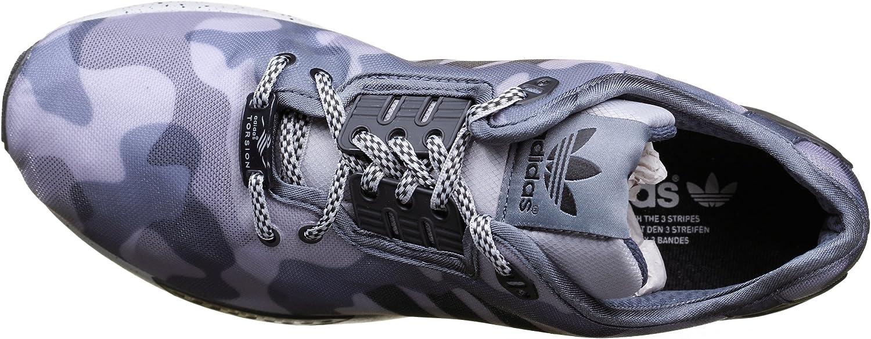 Adidas Chaussure Zx Flux Decon Militaire Gris Couleur