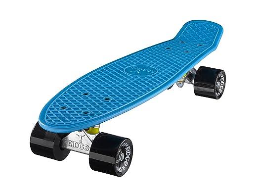 55 opinioni per Ridge Skateboards 22 Mini Cruiser Skateboard, Blu/Nero