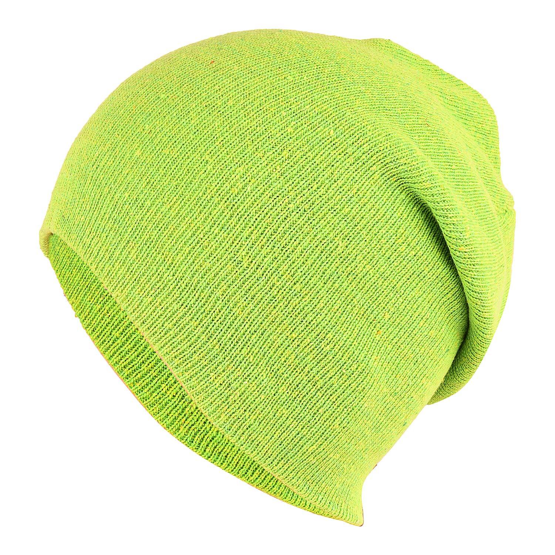 b8c3f1468 DRUNKEN Unisex Winter caps Men and Winter Cap for Women Slouchy Soft  Woollen Winter Beanie Light Green Caps