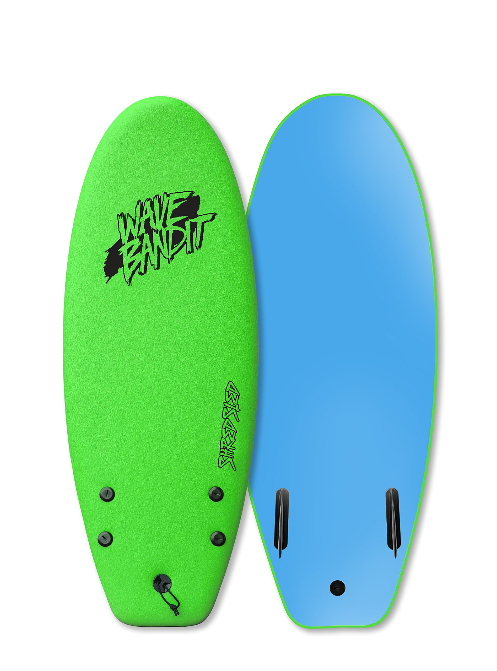Wave Bandit Shred Sled 48 Twin, Neon Green by Wave Bandit