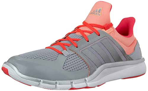 super popular 6d42e 77571 Adidas Womens Adipure 360.3 Training Shoe, Clear Onix GrayMid GrayShock  Red