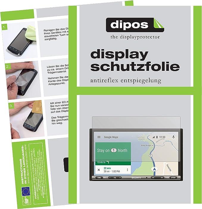 Dipos I 2x Schutzfolie Matt Kompatibel Mit Sony Xav Ax3005 Auto Radio Folie Displayschutzfolie Navigation