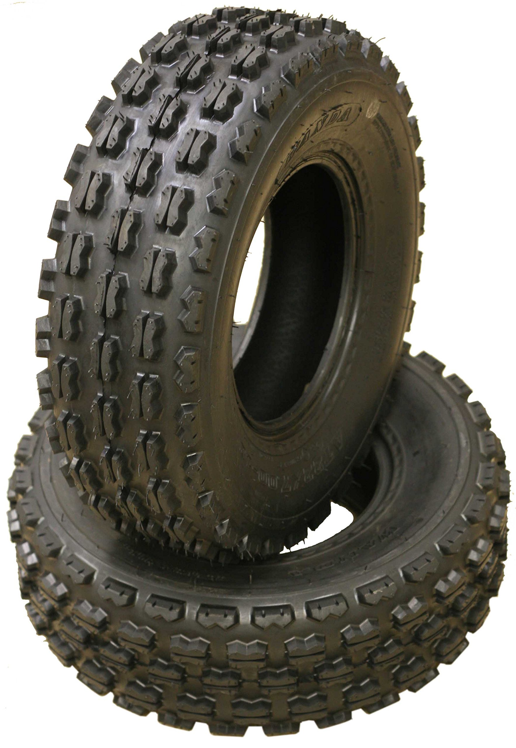 Set of 4 New Sport ATV Tires 22x7-10 Front & 22x10-10 Rear /4PR - 10077/10089 by Wanda (Image #2)