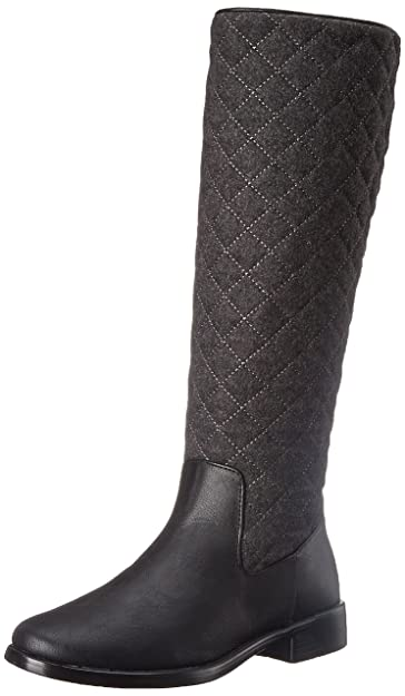 Aerosoles Women's Establish Riding Boot,Grey Wool,6.5 ...