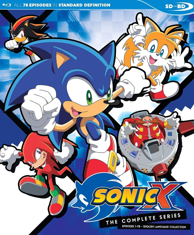 Amazon Com Sonic X Complete English Dubbed Series Sdbd Blu Ray Sonic X Complete English Dubbed Series Sdbd Movies Tv