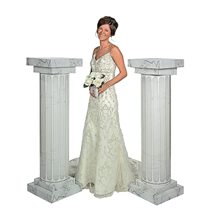 Amazon.com: Fun Express FX IN-3/2360 2 Piece Marble Look Fluted ...