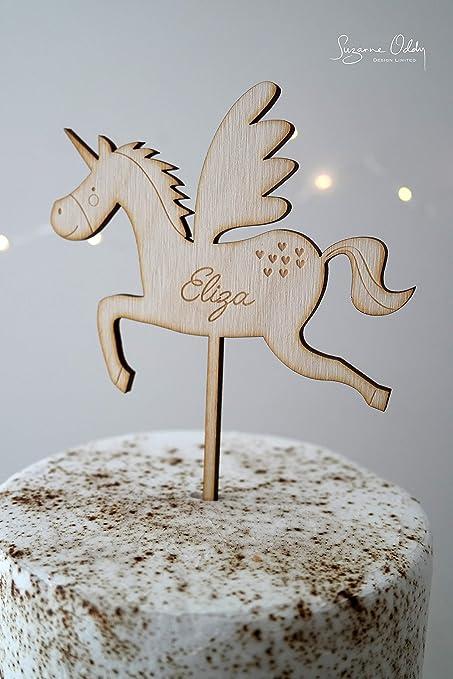 Decoración para tarta de unicornio con unicornio para fiesta ...