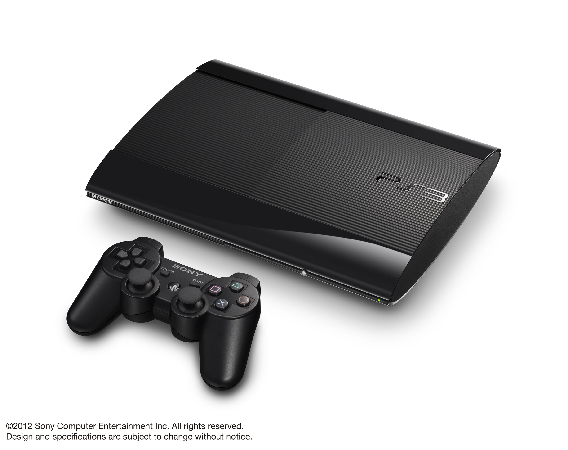 SONY PlayStation3 PS3 Console 250GB | JAPAN MODEL |CECH-4000B LW Black (Japan Import)