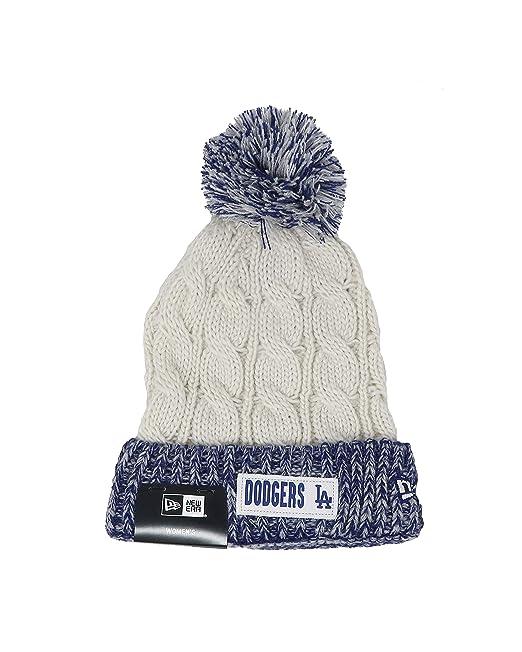 c9cd0f3a7 New Era Hat Los Angeles Dodgers Winter Beanie Knit ... - Amazon.com