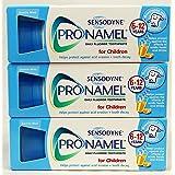 3 Packs of Sensodyne Pronamel Children Daily Fluoride Toothpaste by Sensodyne
