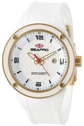 Amazon.com: Seapro de los hombres SP2115 Diver Reloj ...