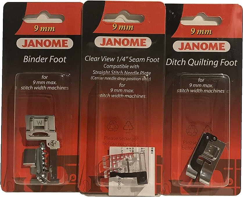 Janome Kit de pie para máquina de coser – Janome accesorio para ...