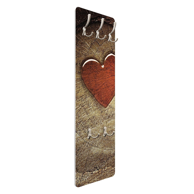 Apalis 72999 - Perchero de Pared Natural Love, 139 x 46 cm ...