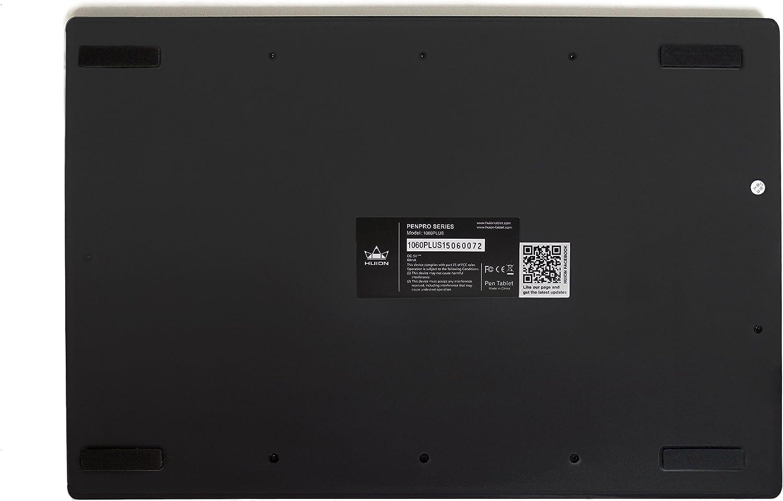 Huion 1060 PLUS - Tableta Gráfica Digitalizadora - con 12 Accesos ...