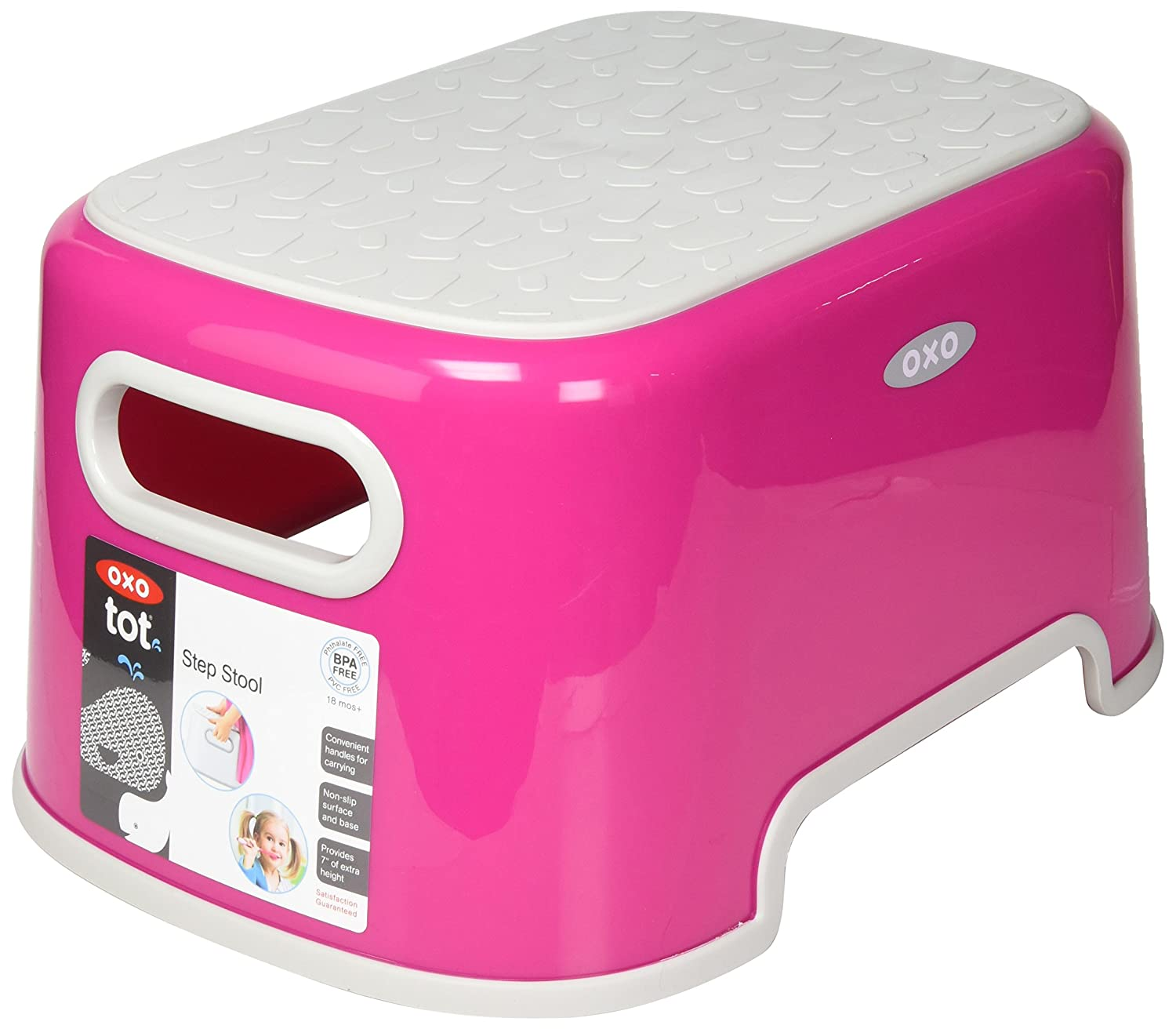 Oxo Tot Step Stool, Pink 63116400