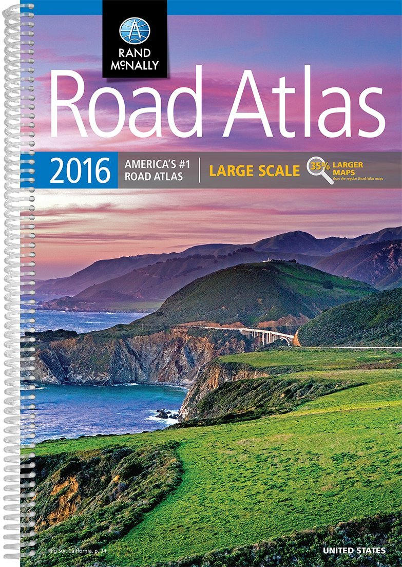 Rand McNally Road Atlas United States Large Scale Rand - Us road atlas map