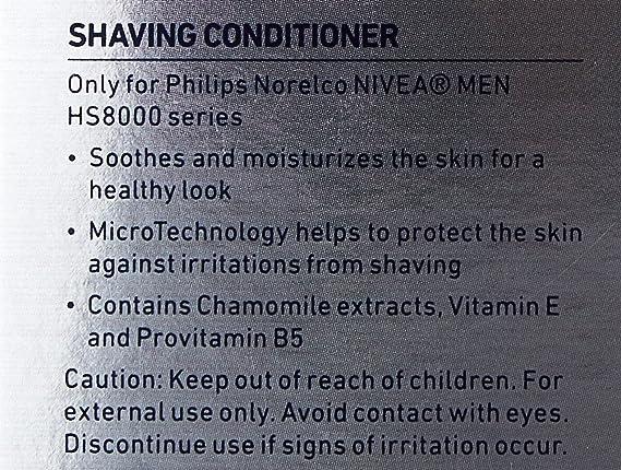 Philips Norelco HS800 Nivea for Men Shaving Conditioner by Nivea ...